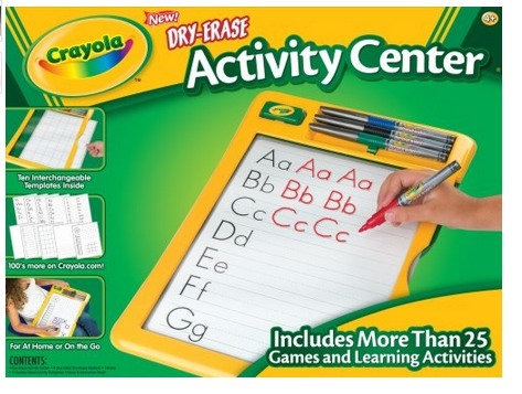 Crayola Dry Erase Activity Center Only $9.49 (Reg. $17.99!)