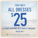 Hollister: ALL Dresses Only $25 + FREE Shipping (Reg. $59.95!)