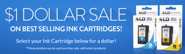dollar *HOT* 4InkJets: $1 Ink Cartridge Sale!