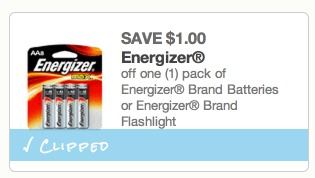 *HOT* Packages of Energizer MAX Batteries Only $0.37 (ONLY $0.05 Per Battery!)
