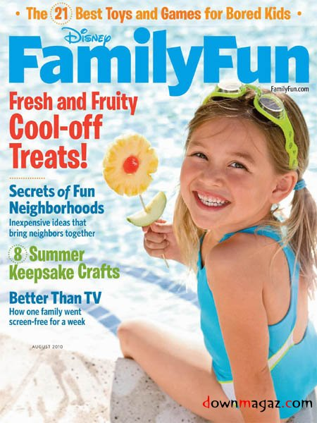 family FREE 1 Year Subscription to Family Fun Magazine!