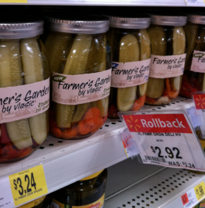 gar High Value $1/1 Farmers Garden by Vlasic Pickles Coupon + Walmart Deal Plan!