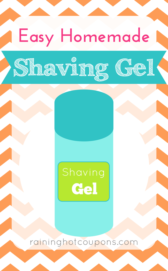 gel DIY Homemade Shaving Gel