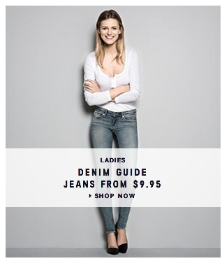 H&M Tons of JEANS Only $9.95 + FREE Shipping (Back to School?!)