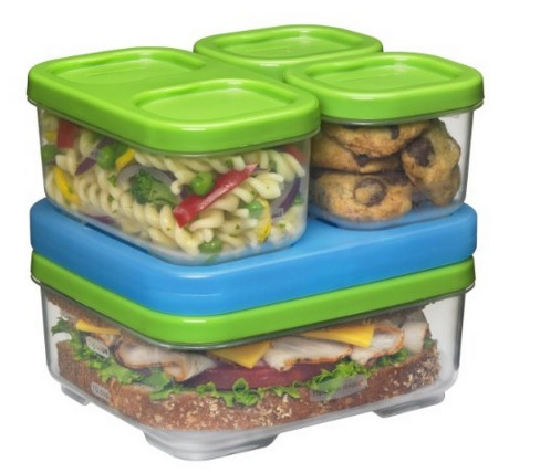 Rubbermaid Lunch Box   Sandwich Kit Only $7.97 (Reg. $15.99)!