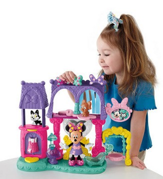 Fisher Price Minnie Mouses Pampering Pets Salon Play Set Only $15 (Reg. $44.97)!