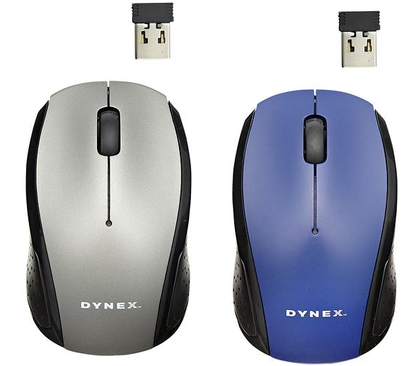 mouse Dynex Wireless Optical Mouse Only $4.99 + FREE Shipping (Reg. $9.99!)