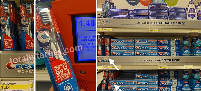 oral b toothbrush deals Target: Oral B Toothbrushes, Speedstick, and Dial Only $0.30