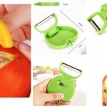 *HOT* Orange Fruit Peeler AND a Foldable Apple Peeler Only $1.62 total + FREE shipping!