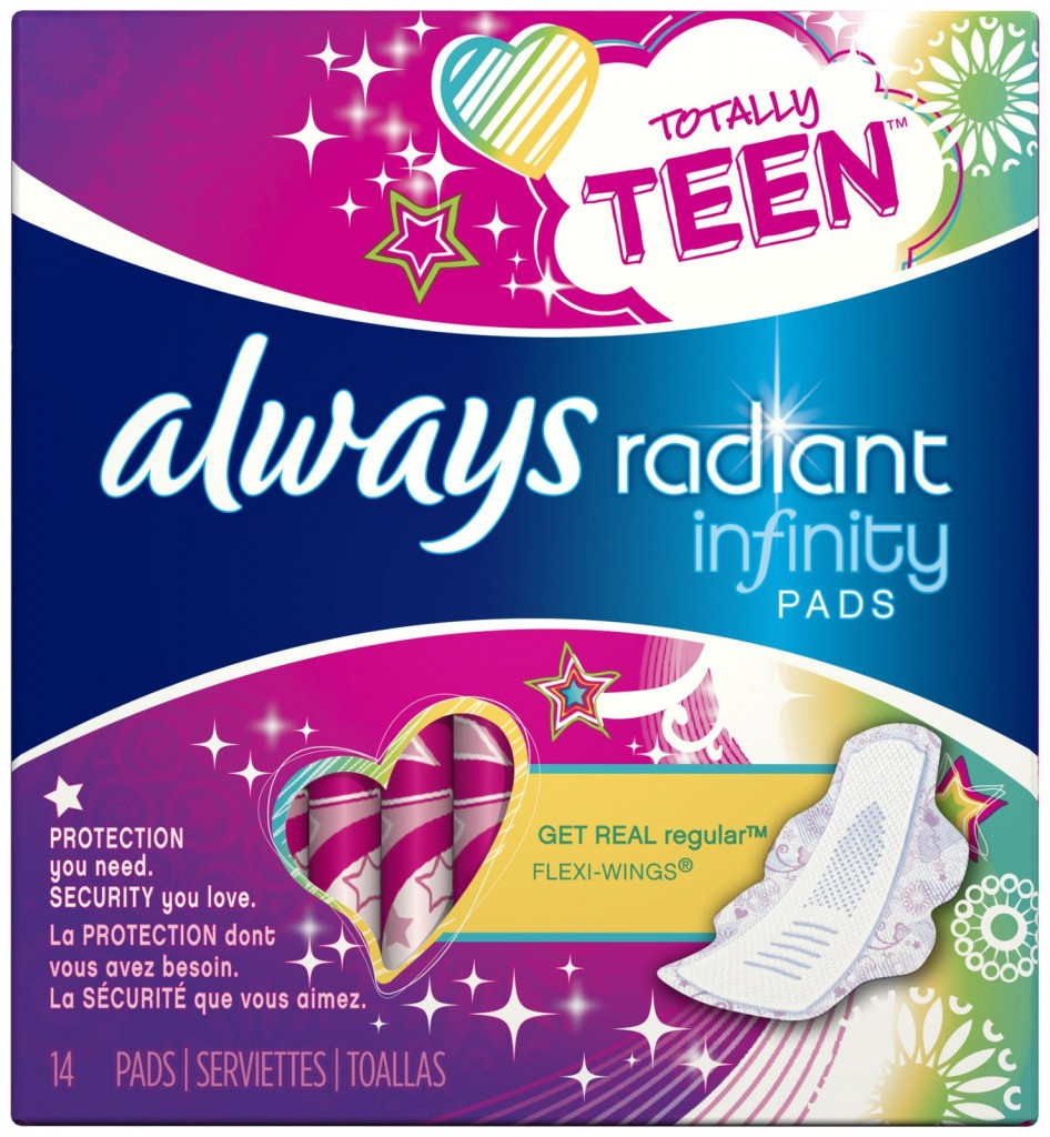 pg 5329 1z 946x1024 Target: Better Than FREE Always Radiant Teen Pads (Starting 7/20)