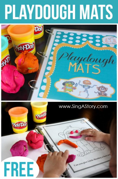 play FREE Playdough Mats