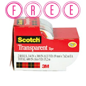 scotch Free Scotch Tape at Target