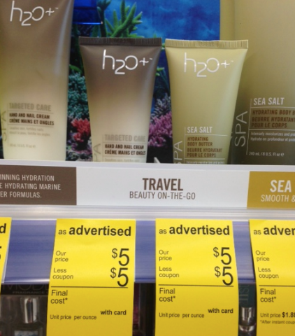 screen shot 2014 07 27 at 4 36 52 pm Free H20+ Body Care at Walgreens (Travel Size)!