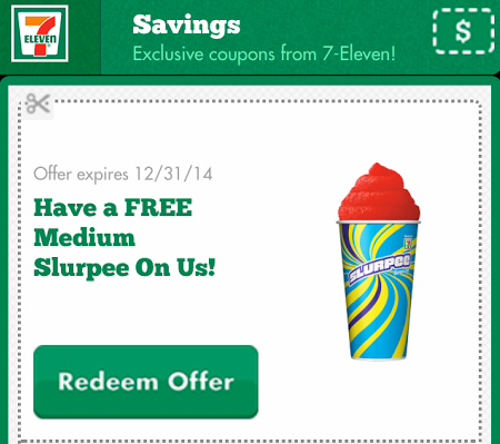slu *HOT* 7 Eleven: FREE Medium Slurpee (Valid through 12/31!)