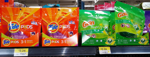 tide gain at walmart Tide Pods or Gain Flings Just $0.24 at Walmart