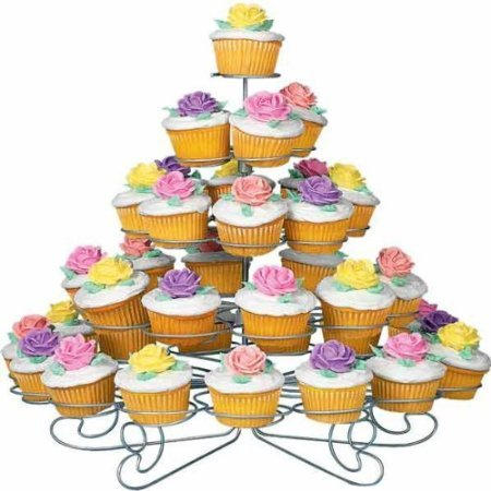 51Q8O5rLHOL Amazon: 5 Tier 41 Count Cupcake Tower Stand Only $15.66 (Reg. $59.99)