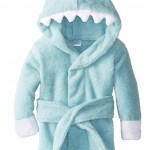 Amazon: Baby Aspen Let The Fin Begin Terry Shark Robe, 0-9 Months Only $19.11 (Reg. $38)
