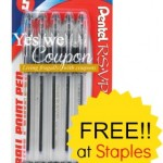 Staples: FREE R.S.V.P. Ball Point Pens After Easy Rebate, Beginning 8/31