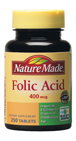 Folic Acid 3 Target: Nature Made Folic Acid Only $1.85