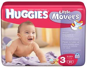 HUG *HOT* Huggies Jumbo Packs of Diapers Only $3.33 + FREE Shampoo!
