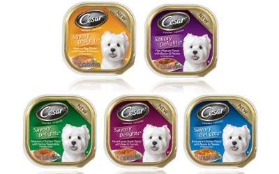 LA68220 Target: Cesar Canine Cuisine Trays Only $0.17