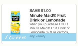 *HOT* FREE Minute Maid Juice or Lemonade Cartons at Walmart!
