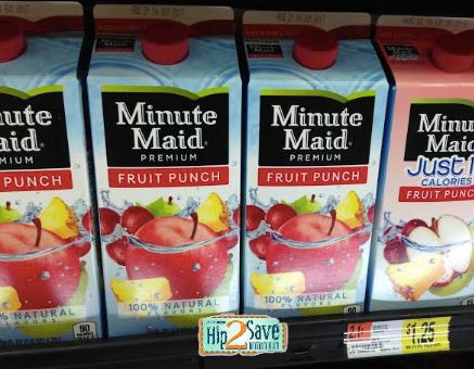 MINUTE *HOT* FREE Minute Maid Juice or Lemonade Cartons at Walmart!