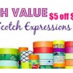 Scotch Expressions Tape Only $1.25 Each at Walgreens