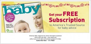 ab 300x146 FREE Subscription to American Baby