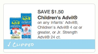 *HOT* Children's Advil Box Only $3.49 with New Coupon