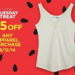 Sears Outlet: $5 off ANY Apparel Purchase!