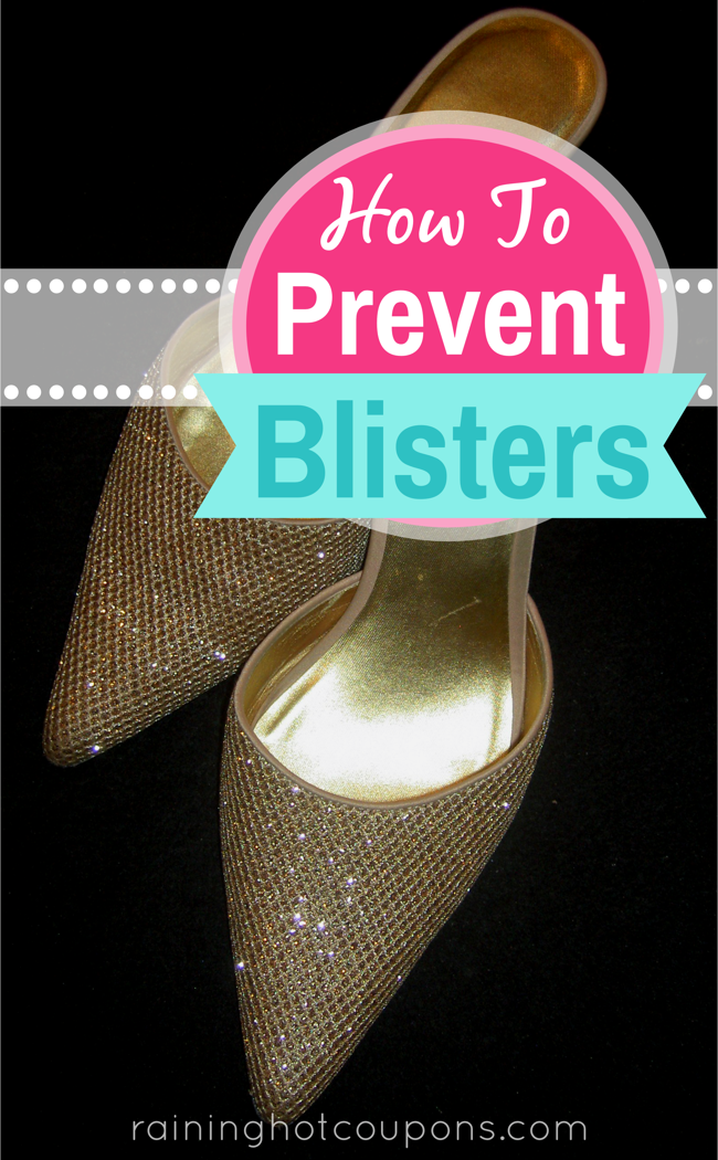 blisters How To Prevent Blisters From New Shoes