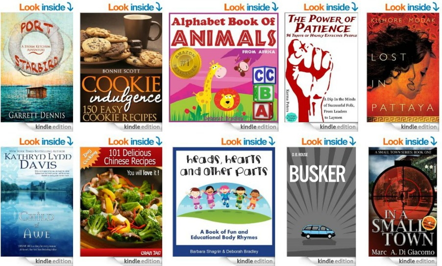 List of 10 FREE Ebooks from Amazon! 8/1