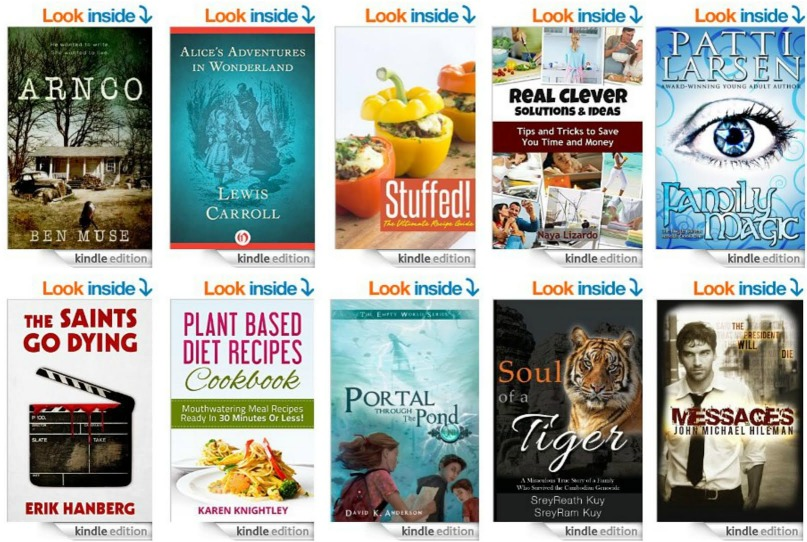 List of 10 FREE Ebooks from Amazon! 8/27
