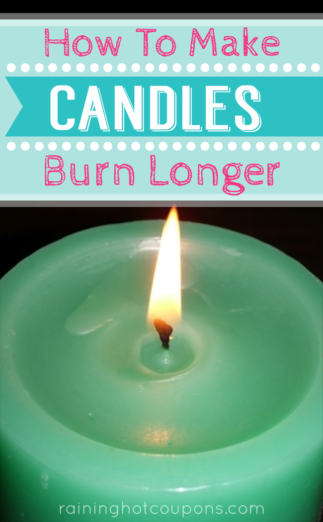 candle How To Make Candles Burn For Longer