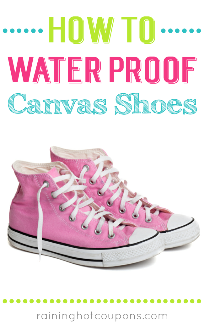canvas How To Waterproof Canvas Shoes