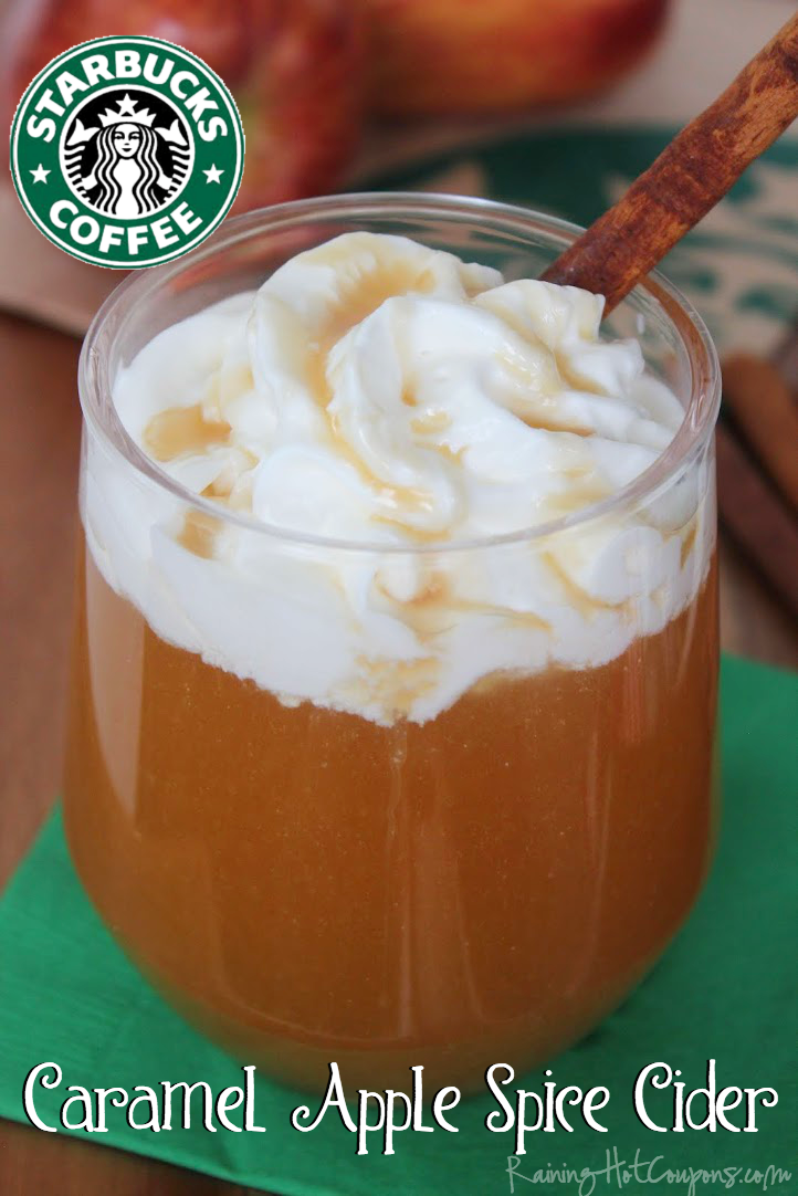 caramel apple spice cider