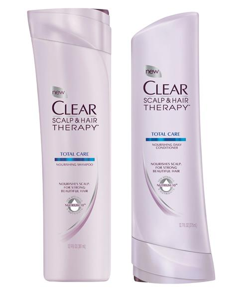 Clear & Scalp Hair Therapy Shampoo or Conditioner