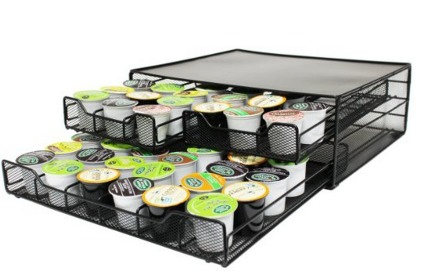 Coffee Organizer for K Cups Only $13.95 (Reg. $49.99) Stores 72 K Cups!
