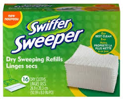 download 21 Swiffer Sweeper Dry Sweeping Refills Only $3.47 at Walmart