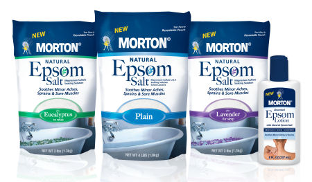 epsom salt FREE Bag of Morton Epsom Salt (No Coupons Needed!)