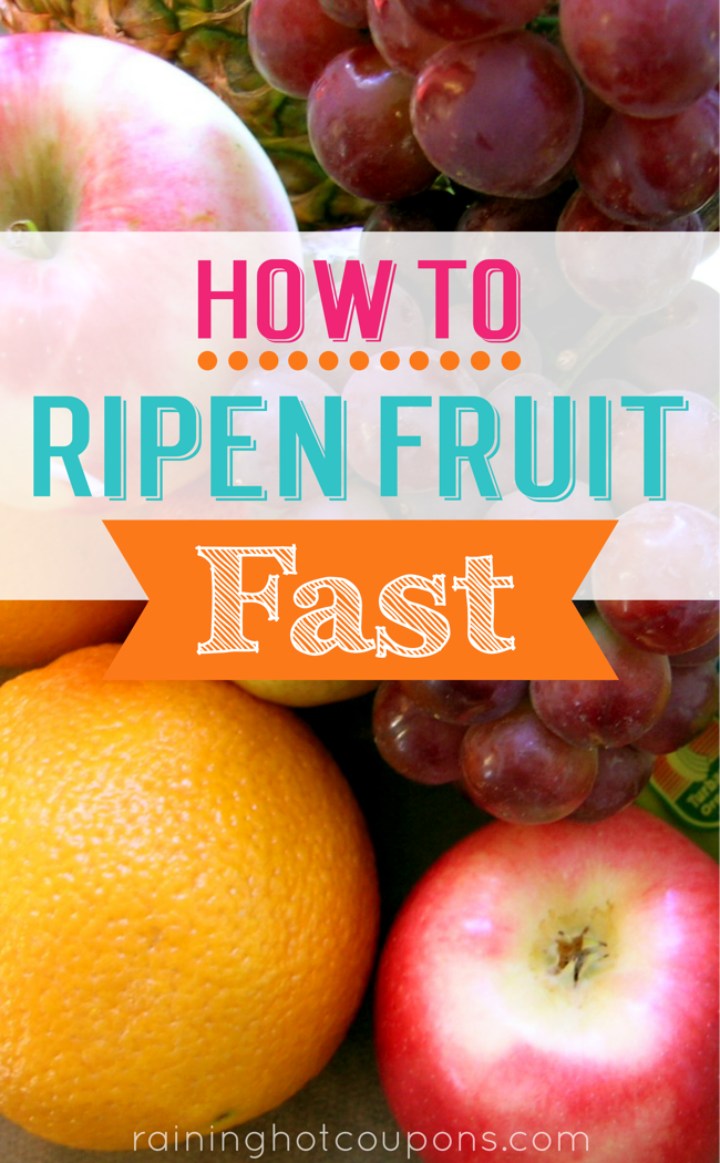 fruit How To Ripen Fruit Fast