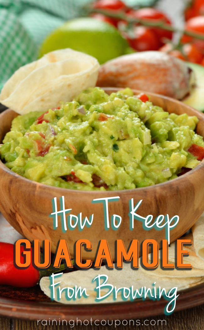 gaucamole How To Keep Guacamole From Browning