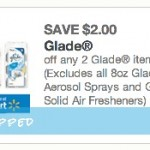 2 FREE Glade Candles!