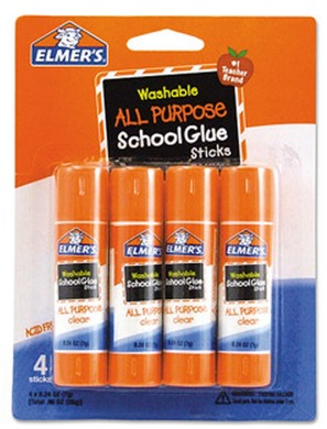 4 Pack of Elmers Washable School Glue Sticks Only $1.97