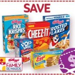 Kellogg's Family Rewards New 25 Point Code