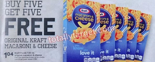 kraft mac cheese Target: Kraft Mac & Cheese Only $0.53 (Starting 8/17)