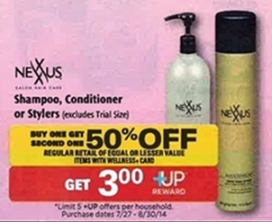 n *HOT* 2 FREE Bottles of Nexxus Shampoo + $6 Moneymaker (NO MONEY OUT OF POCKET!)