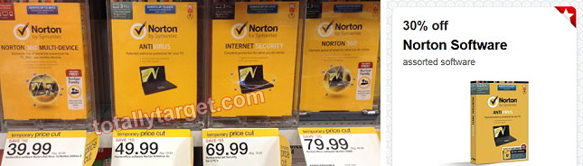 norton software target deals Target: Norton Software Up To 44% Off (Thru 8/30)