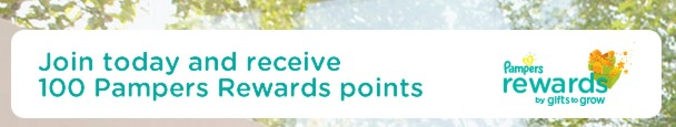 Pampers Gifts To Grow Rewards = FREE Diapers, Toys, Bottles, Gift Cards + 100 FREE POINTS!